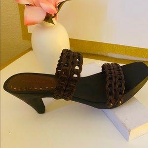 """GIANNI BINI """" Brown Sandals size 7"""